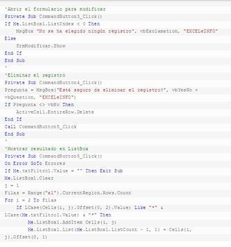 Cómo buscar y modificar datos en excel3