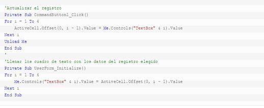 Cómo buscar y modificar datos en excel6
