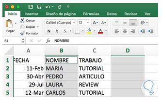 Cómo eliminar una columna en Excel7