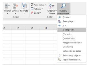 Cómo eliminar una fila en Excel2