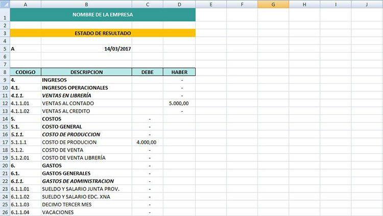 Cómo llevar las cuentas de mi pequeña empresa con Excel | Contabilidad