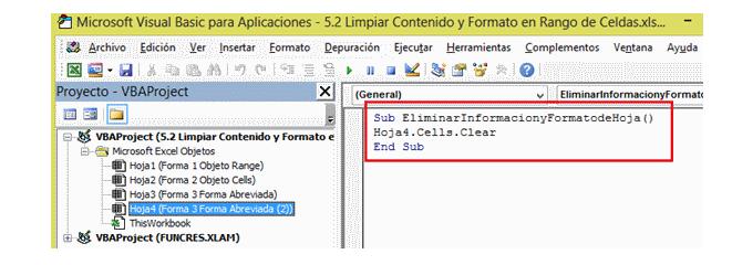 Cómo eliminar hojas de Excel con VBA | Eliminar hojas de Excel