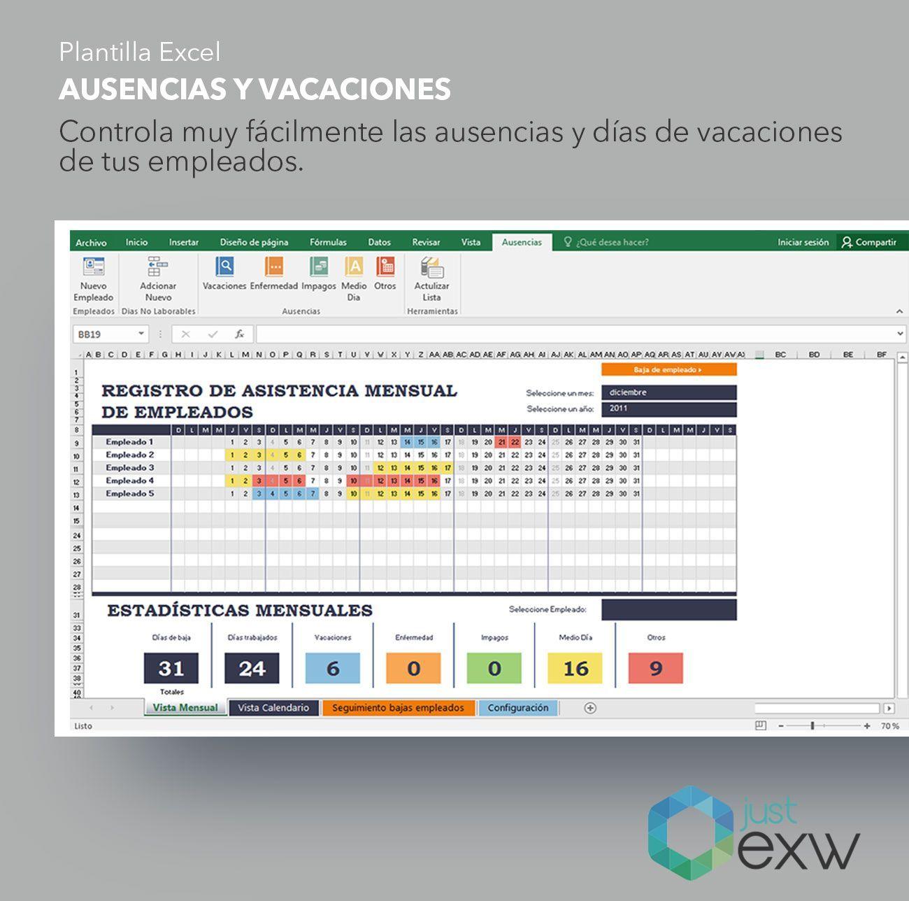 Pack Plantillas Gestión de Equipos | RRHH | Plantilla de Excel para RRHH