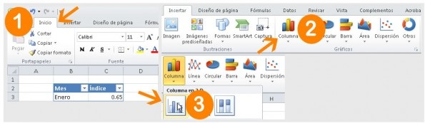 Introducir datos en Excel para graficas 2