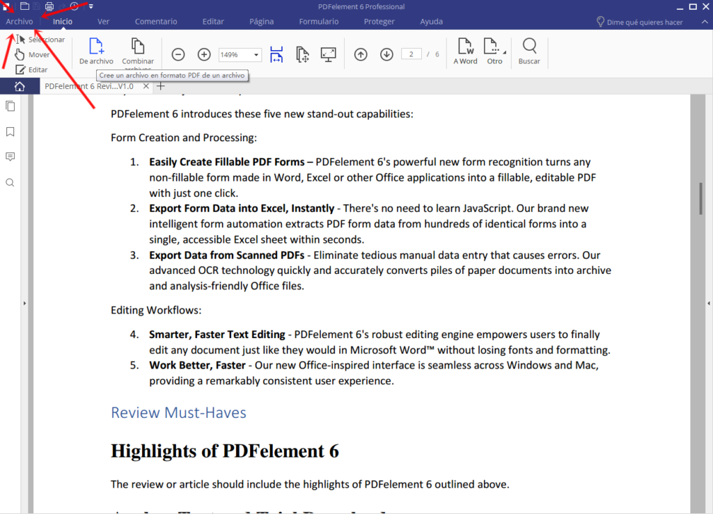 PDF A EXCEL 1