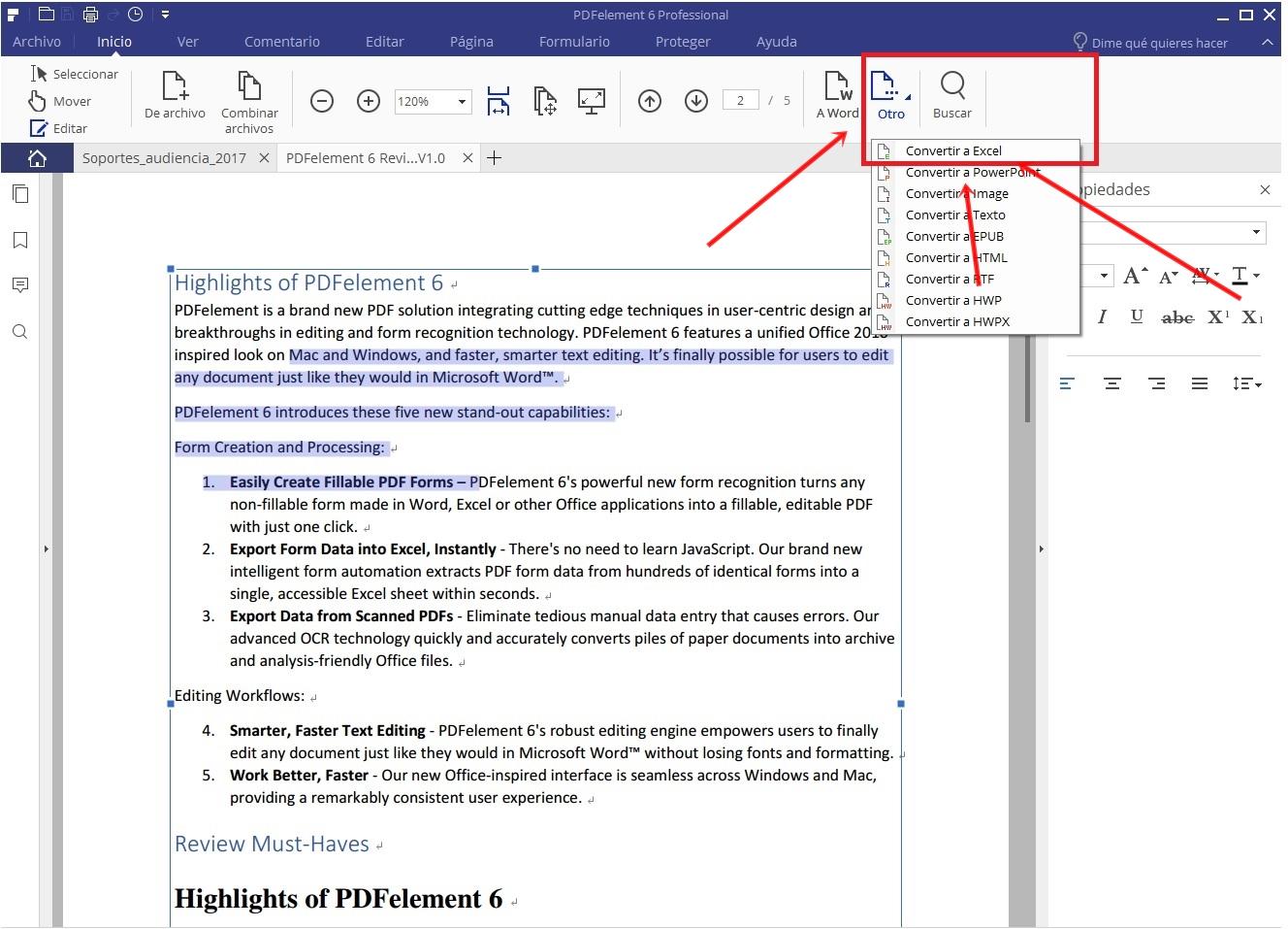PDF A EXCEL 3
