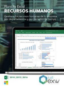 Plantilla de Recursos Humanos para Excel
