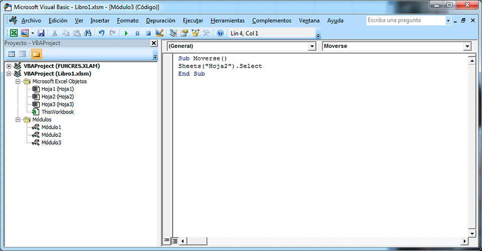Activar hoja de Excel con Visual Basic