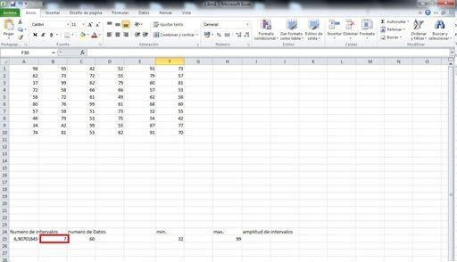 agrupar datos de Excel en intervalos 3