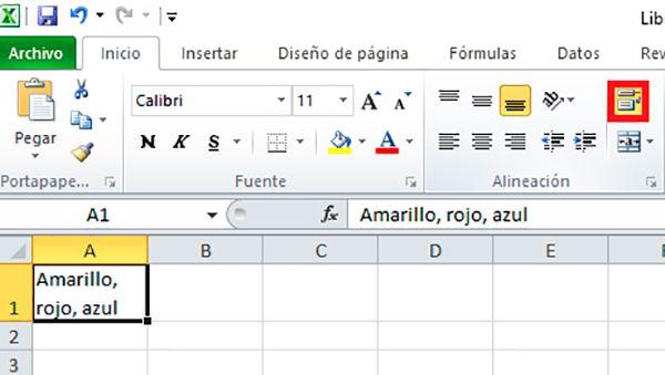 Cómo modificar automáticamente el contenido de las casillas Excel