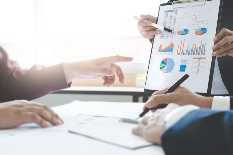 Análisis factores externos e internos en Excel