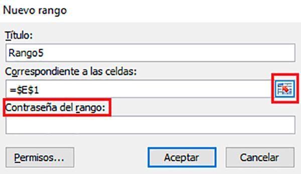 Aprobar el acceso de usuarios a las celdas de Excel
