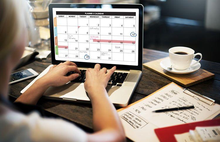 plantilla excel calendario 2018