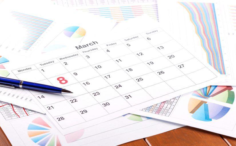Calendario Con Excel.Pautas Para Crear El Calendario De Trabajo Con Excel