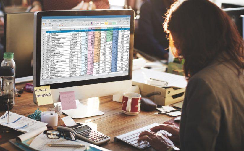 Diseñar la base de datos de Excel