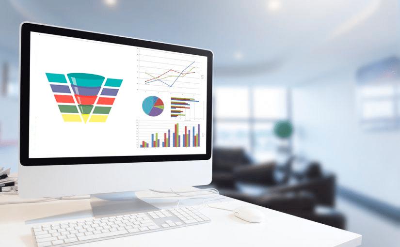 Crear gráficos de embudo con Excel