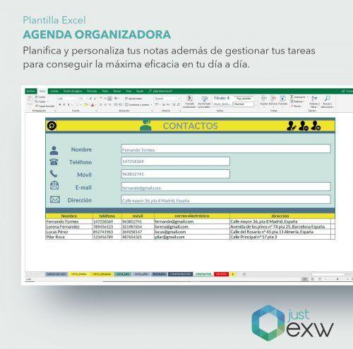 Organiza el tiempo con Excel