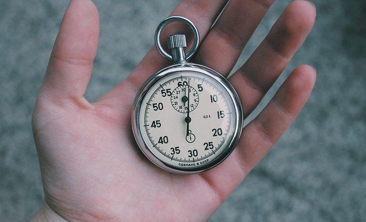 como poner un cronometro en excel