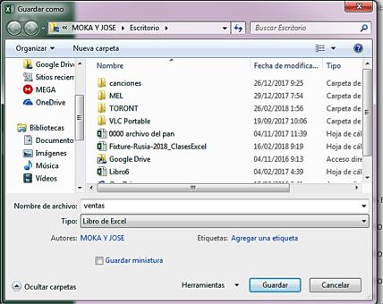 convertir archivo de Excel en txt