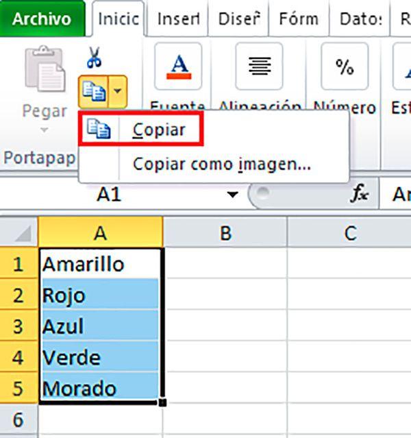 Cómo Copiar Celdas De Excel Formas De Copiar Celdas De Excel