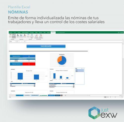 Controla las nóminas con Excel