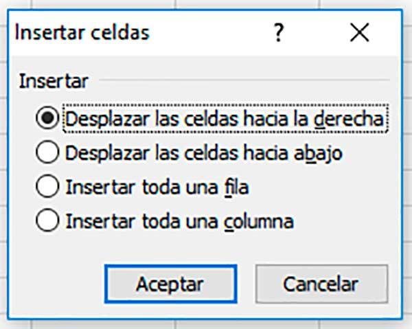 Cómo mover celdas en Excel
