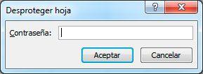 Desbloquear tabla dinámica en Excel