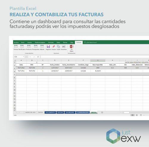 Facturas en Excel