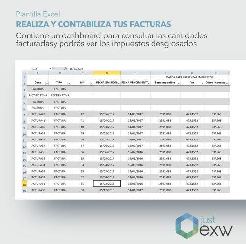 Excel para generar facturas