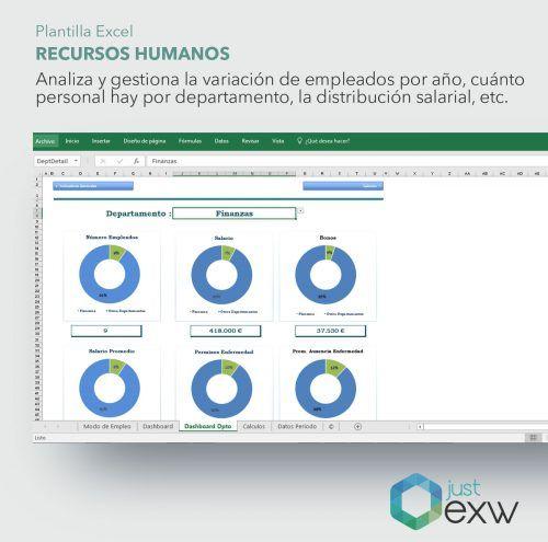 Recursos Humanos en Excel
