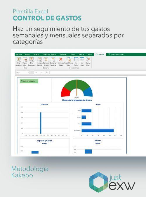 Plantilla Excel Ahorro Familiar