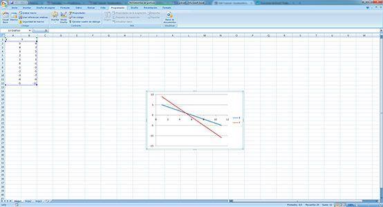 Hacer gráficos con macros en Excel