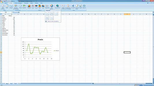 Hacer gráficos de dispersión en Excel