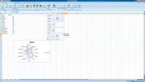 Hacer gráficos radiales en Excel