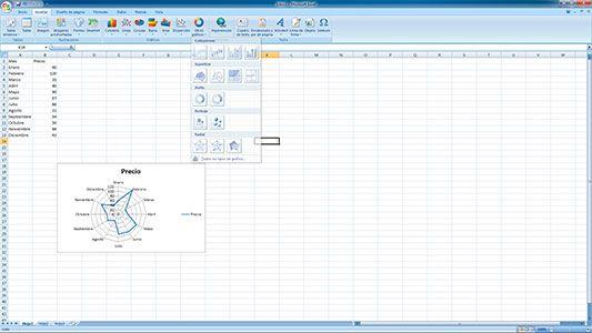 Cómo Hacer Gráficos Radiales En Excel Tutorial Excel
