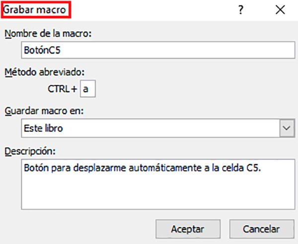 Cómo usar las macros para desplazarte a una celda de Excel