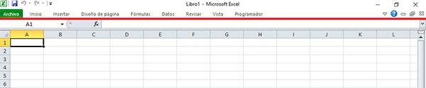 Contraer la cinta de opciones de Excel con atajos de teclado