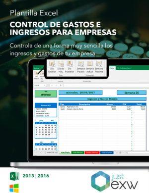 Excel para controlar los gastos de la empresa