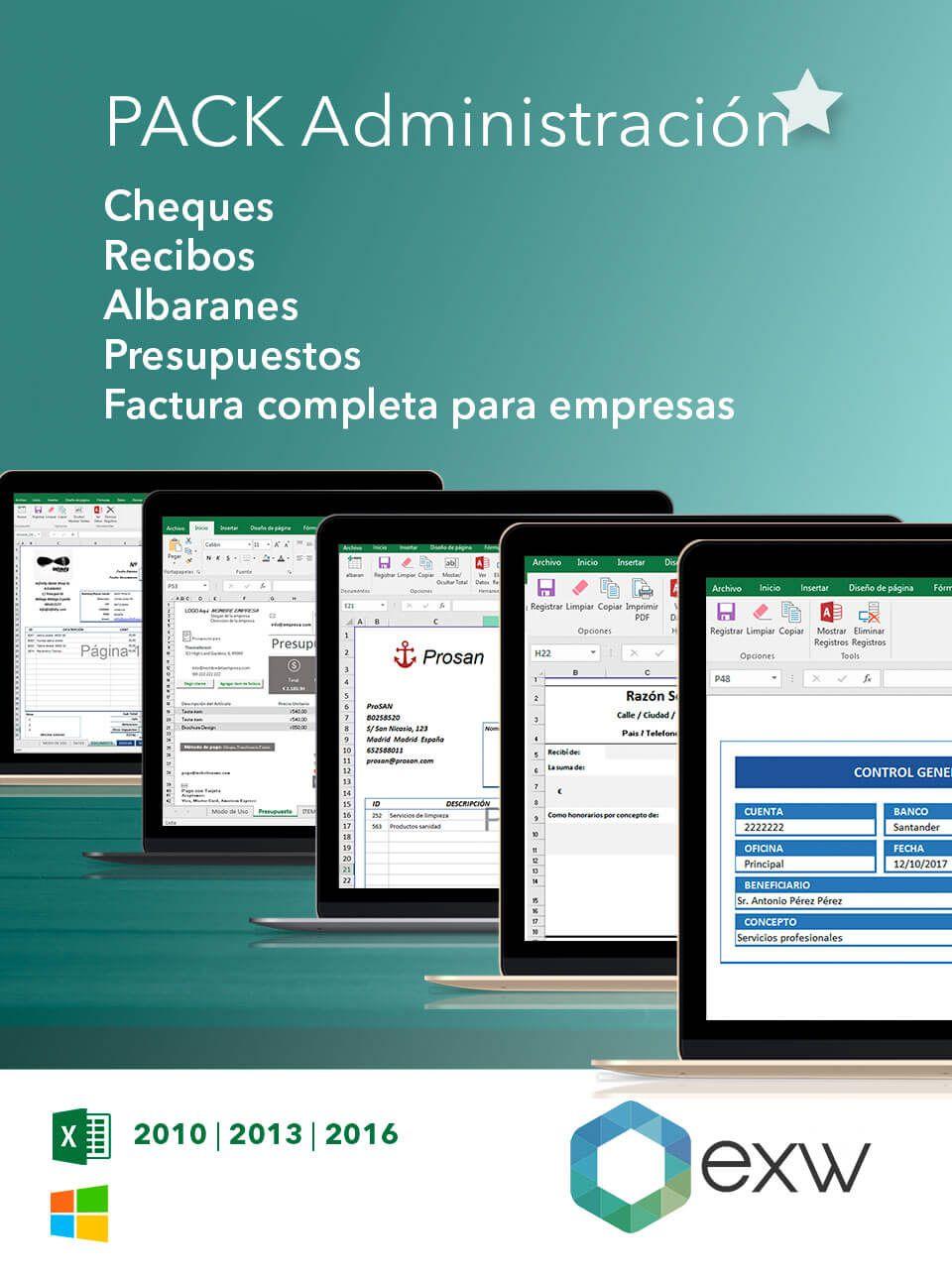 Plantilla de Administración de empresas en Excel | Plantilla para ...