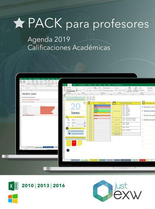 Plantilla Excel para profesores