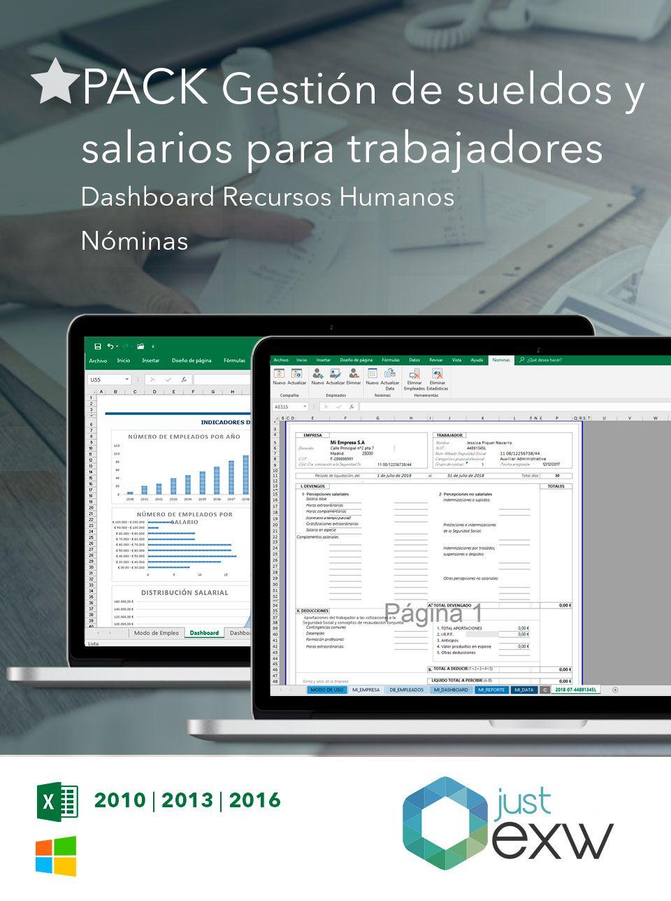 Excel para la gestion salarial de empleados