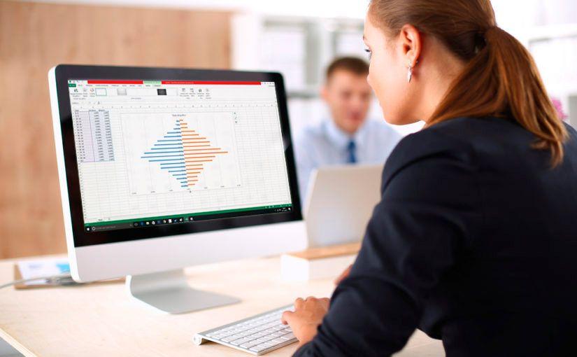 Cómo hacer la pirámide de población en Excel