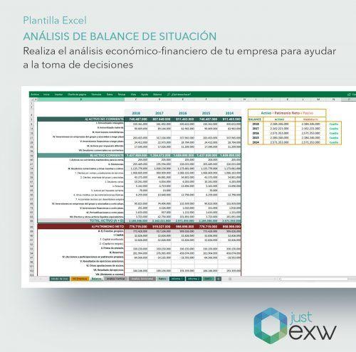 Balance General en Excel