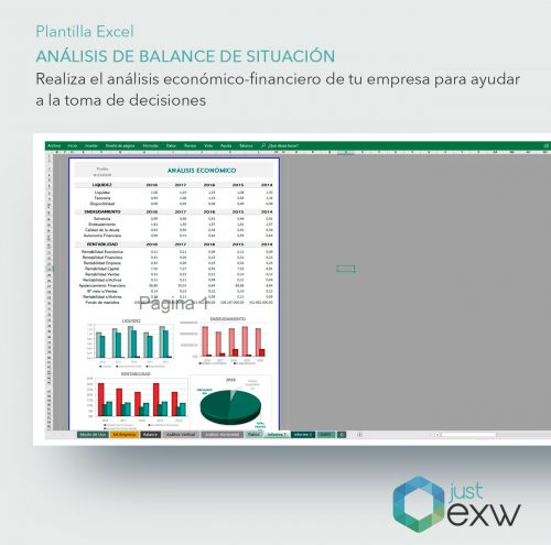 Ratios financieros en Excel