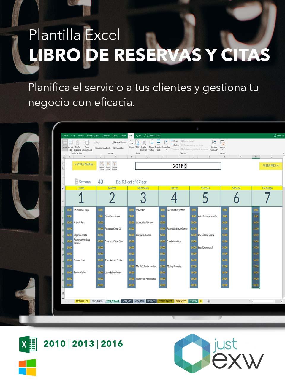 Plantilla de Reservas de hotel en Excel | Plantilla para descargar