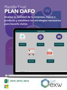 Plantilla Excel para análisis DAFO