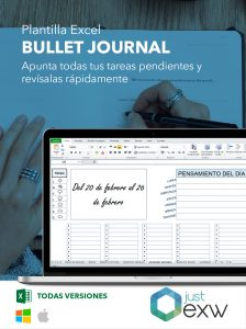 Excel Bullet Journal
