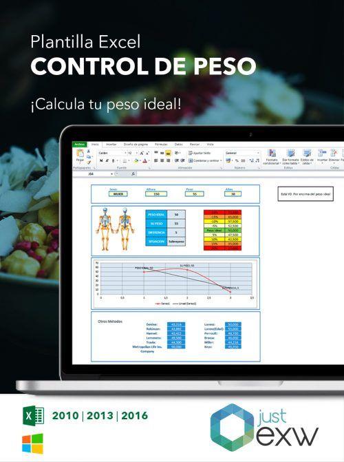 Excel para seguimiento y control del peso