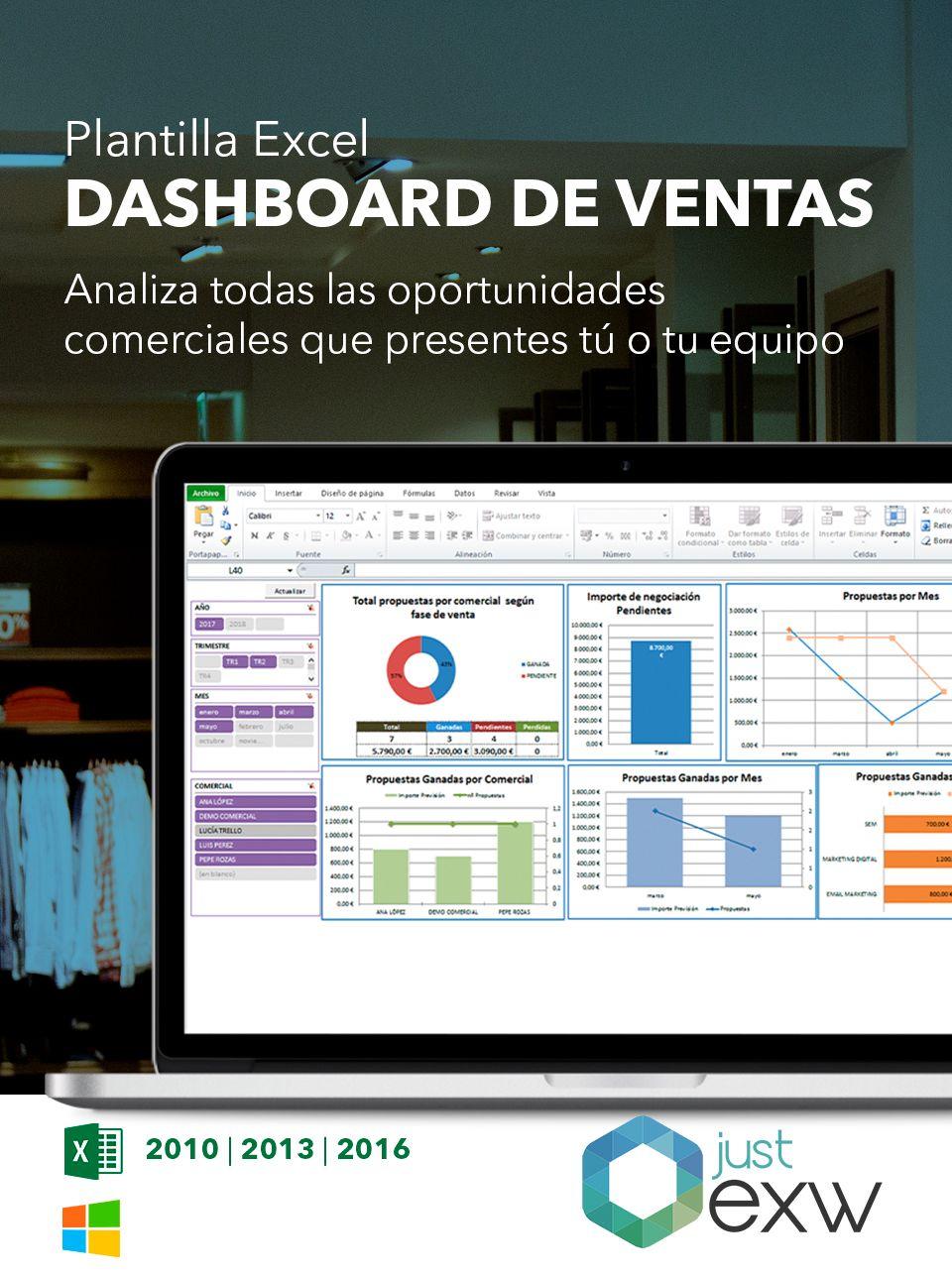 Plantilla del Plan comercial con Excel | Plantilla para descargar