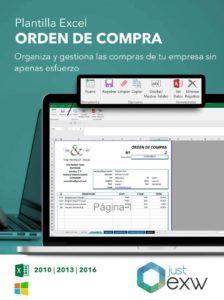 Orden de compra para Excel